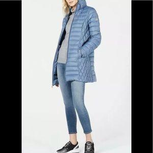 Michael Kors packable down puffer coat blue XXS
